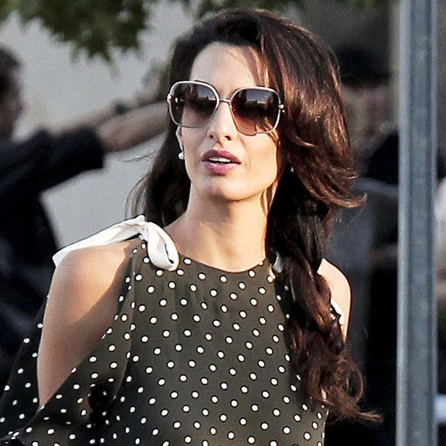 Amal Clooney Got the Memo on the Biggest Shoe Trend Right Now