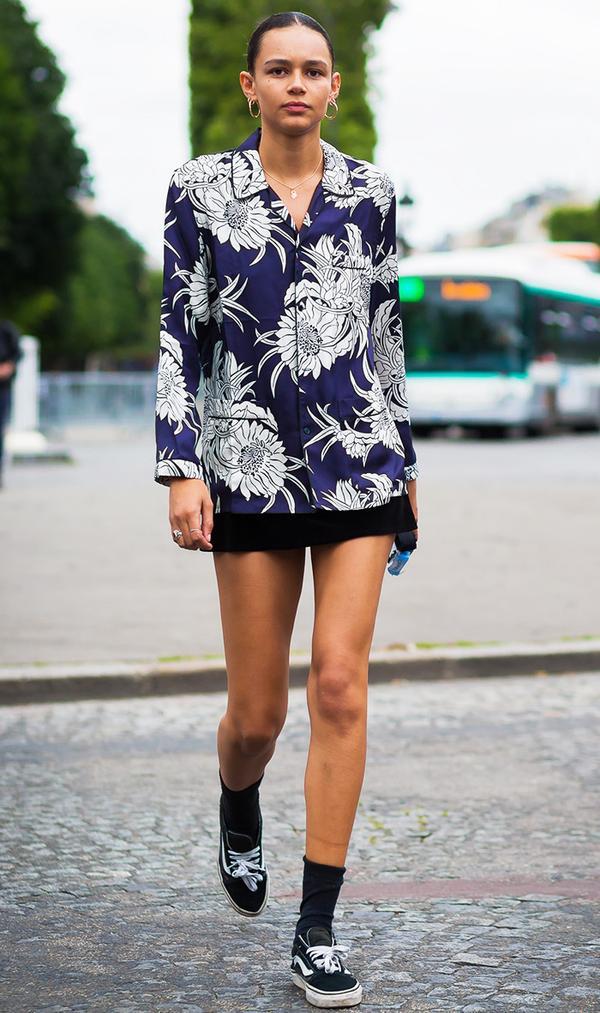 Binx Walton Fashion Week Street Style
