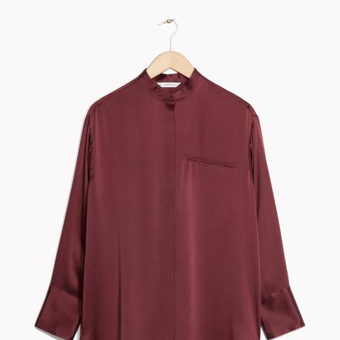 Zana Bayne Satin Shirt