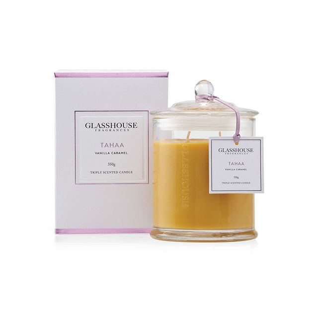 Glasshouse Triple Scented Candle Tahaa