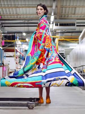Take a Glorious Tour of the Hermès Silk Scarf Factory