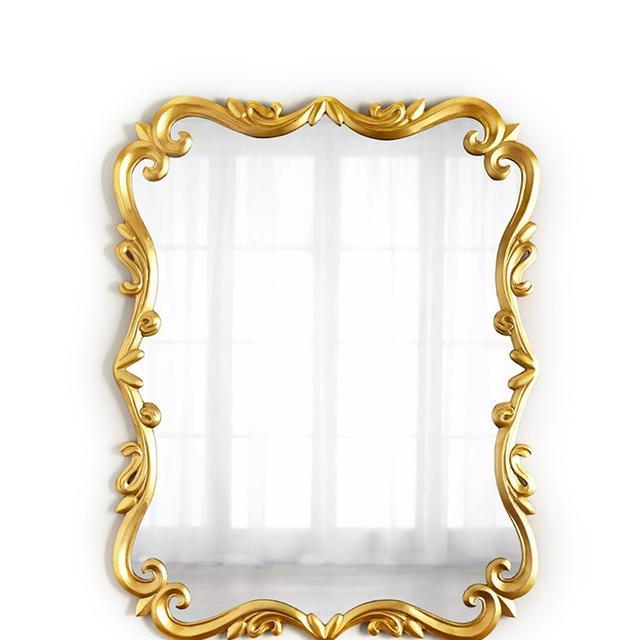 ornate gold mirror