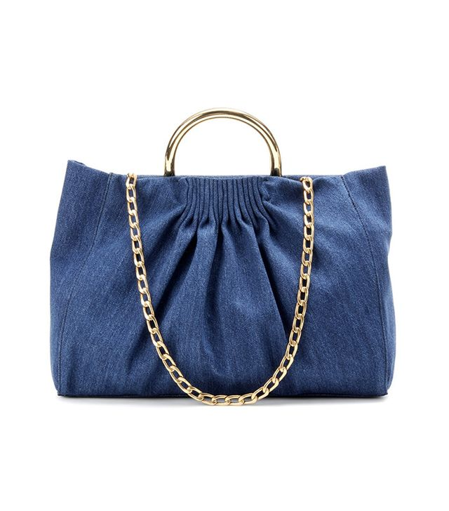 Stella McCartney Nina Medium Denim Shoulder Bag