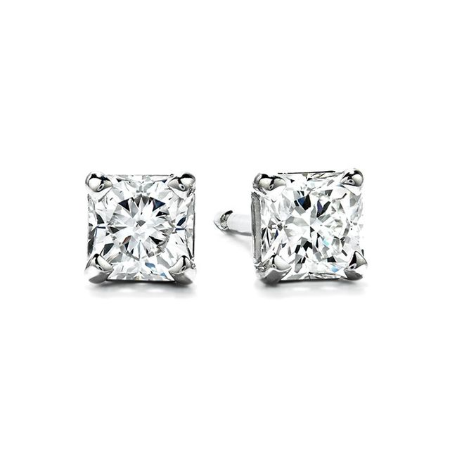 Hearts On Fire Four-Prong Dream Studs