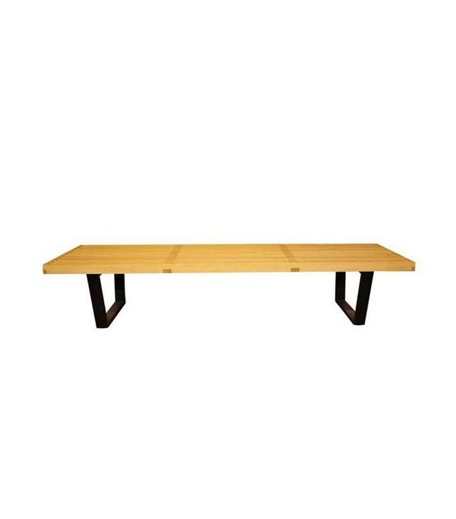 Herman Miller Nelson Platform Wood Bench