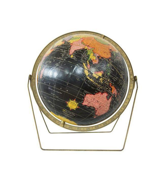 Chairish Mid-Century Cram's Black Globe