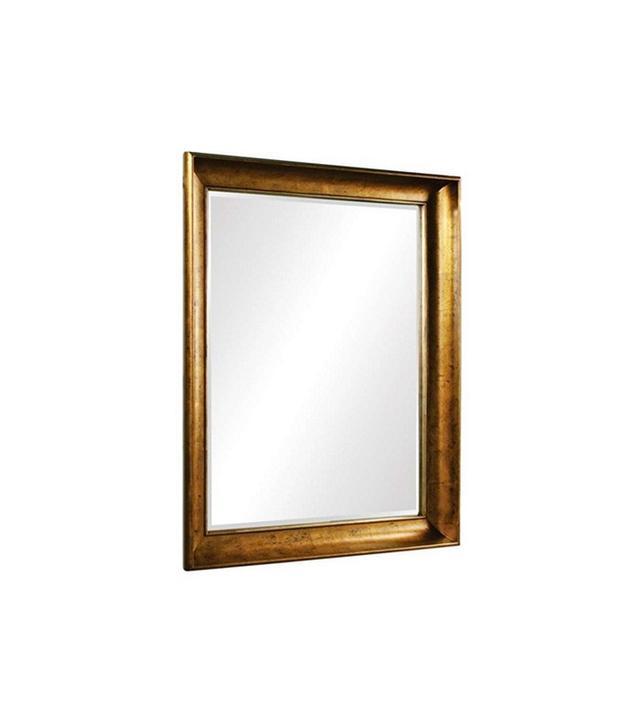 Howard Elliott Montclair Gold Leaf Mirror