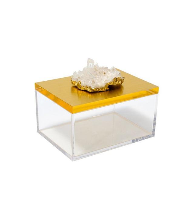Mapleton Drive Acrylic Box With Quartz