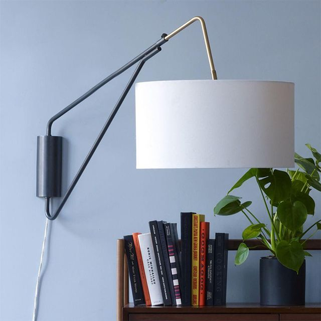 West Elm Mid-Century Overarching Wall Sconce