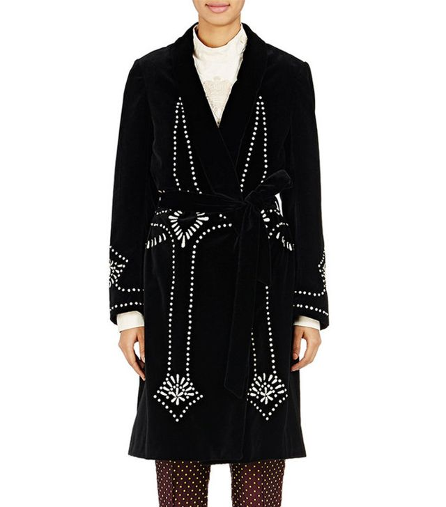 Dries Van Noten Ravik Belted Coat