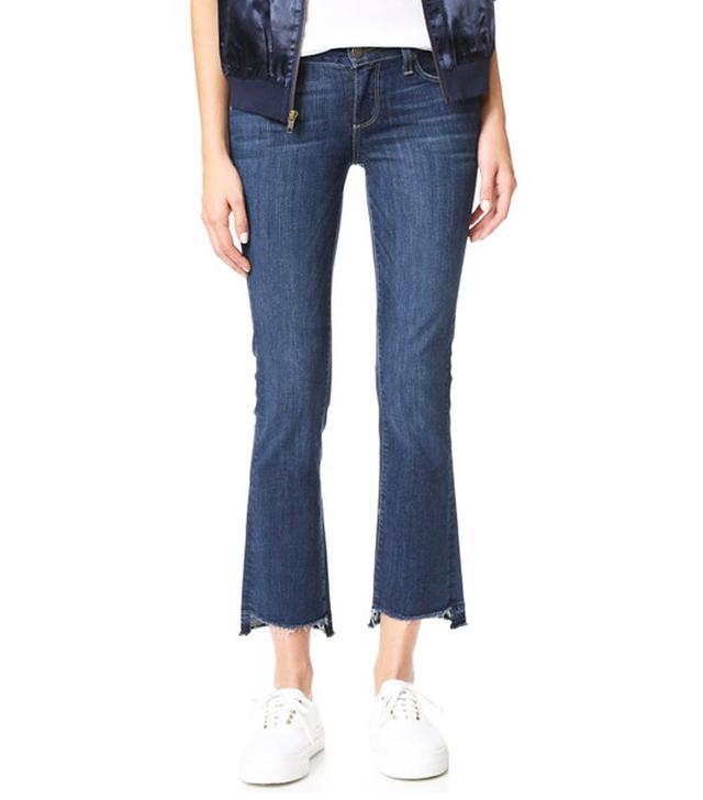 Paige Riley Slim Crop Flare Jeans