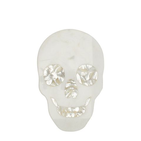 Skull Marble Cheese Board