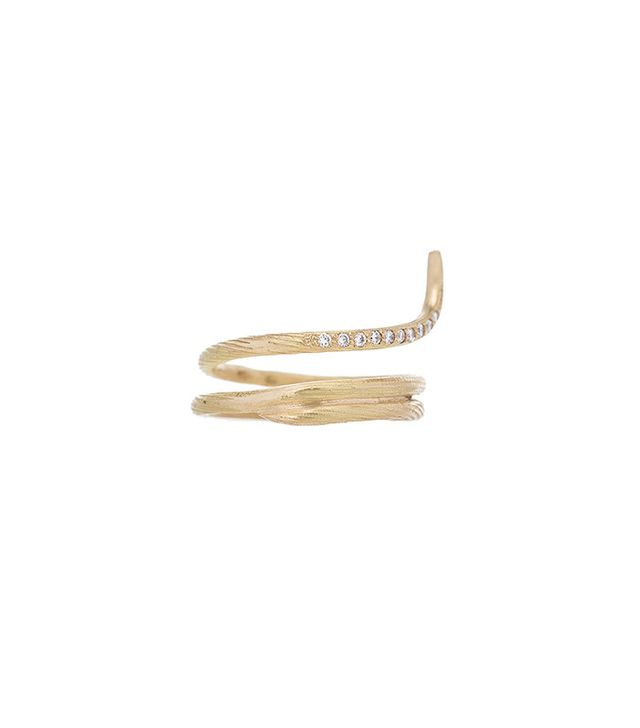 Afin Atelier Fishtail Classic Ring