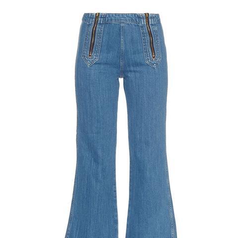 Arrow Cropped Jeans