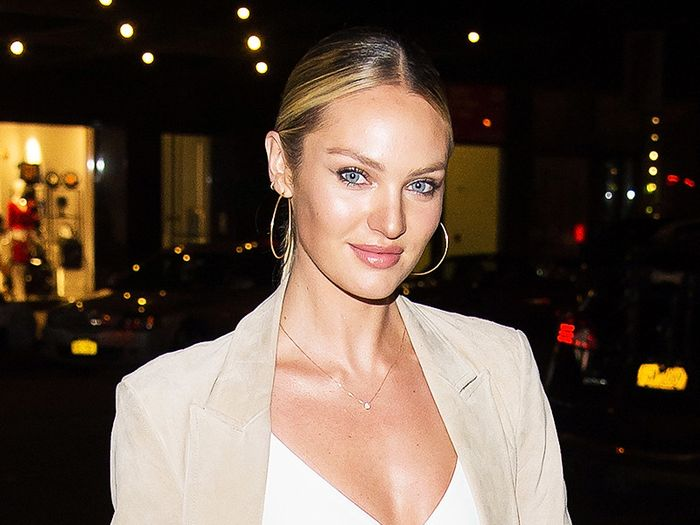 Candice Swanepoel Shares First Photo of Her Baby Boy