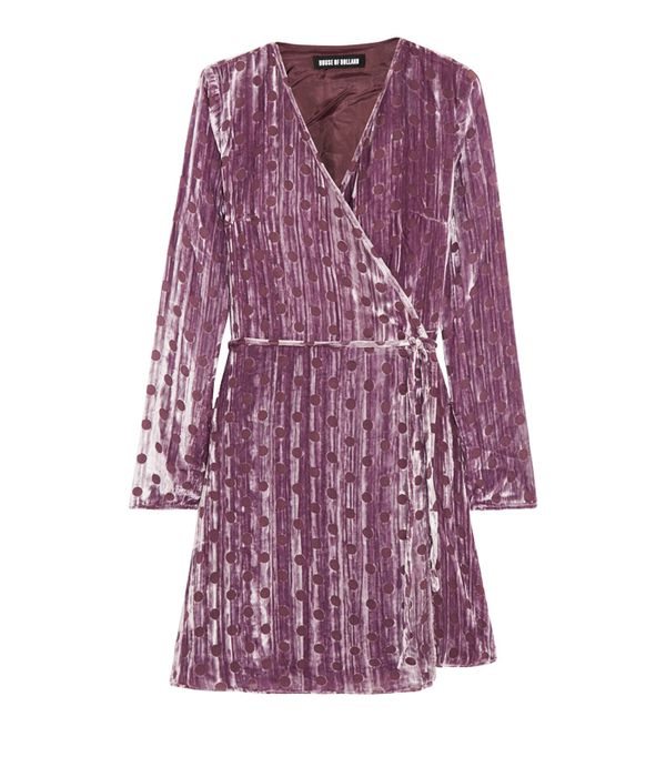 Best party dresses: Ganni Olivet Leopard Print Maxi Dress
