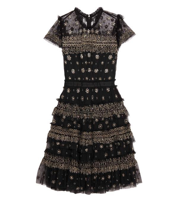 Best party dresses: Emilia Wickstead Anel Floral-Print Cotton Midi Dress