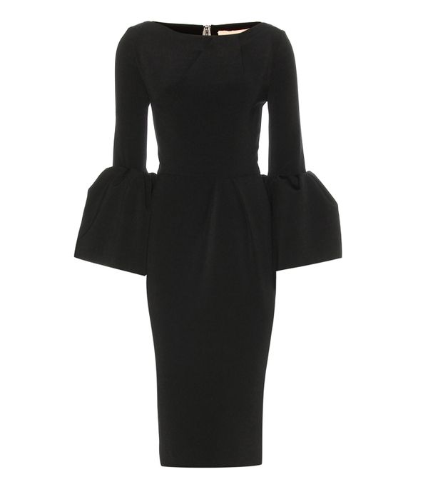 Best party dresses: Roksanda Turlin Stretch-Crepe Midi Dress