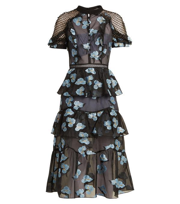 Best party dresses: Mango Knot Wool-Blend Dress