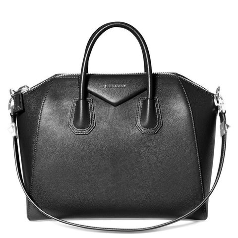 Medium Antigona Sugar Leather Satchel