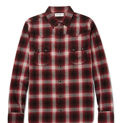 Nashville Slim-Fit Flannel Shirt