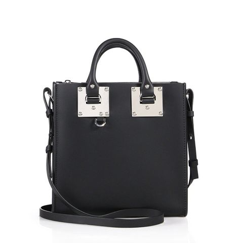 Albion Square Leather Tote