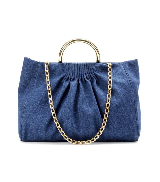 Stella McCartney Nina Medium Denim Shoulder Bag