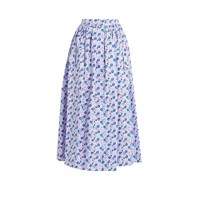 The Vampire's Wife Visiting Cotton Skirt