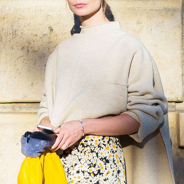The Street Style Images That Changed Our Minds About a Floral Skirt