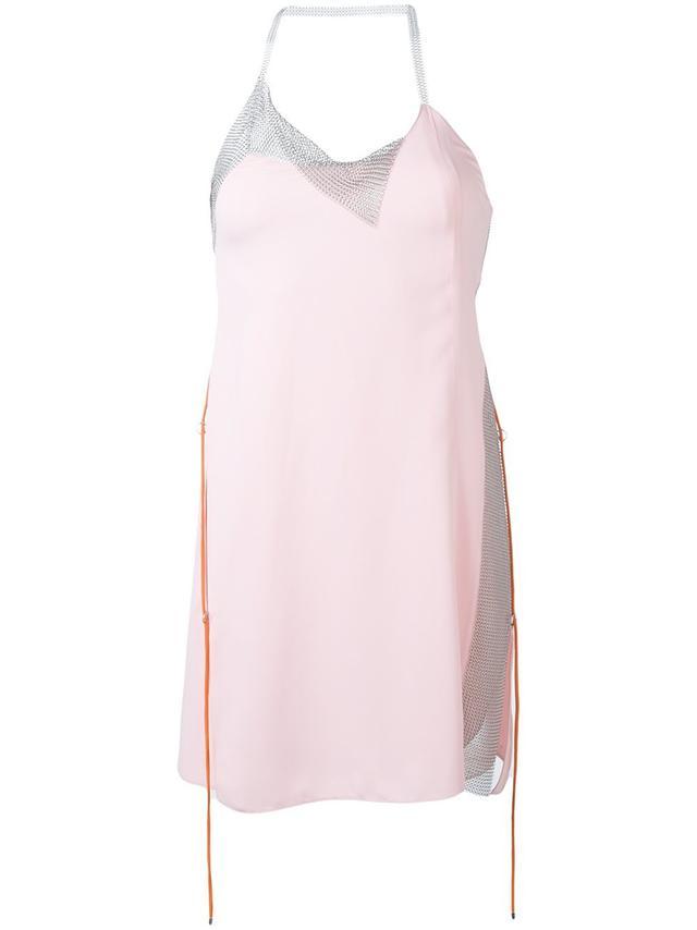 Paco Rabanne Chain Detail Slip Dress
