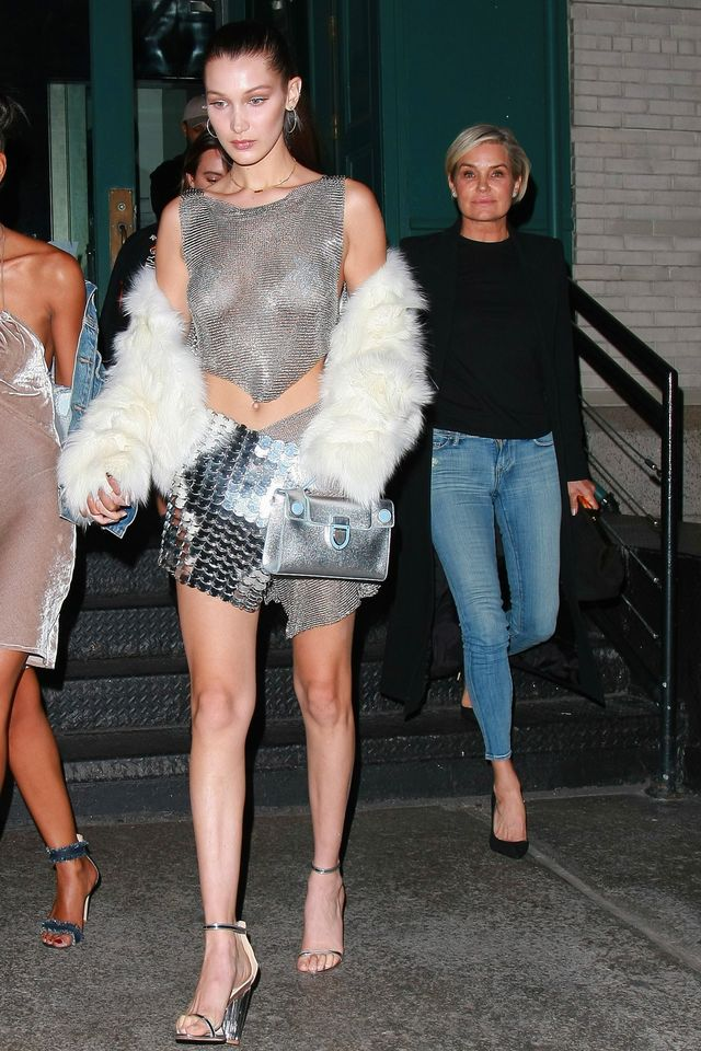bella hadid birthday outfit