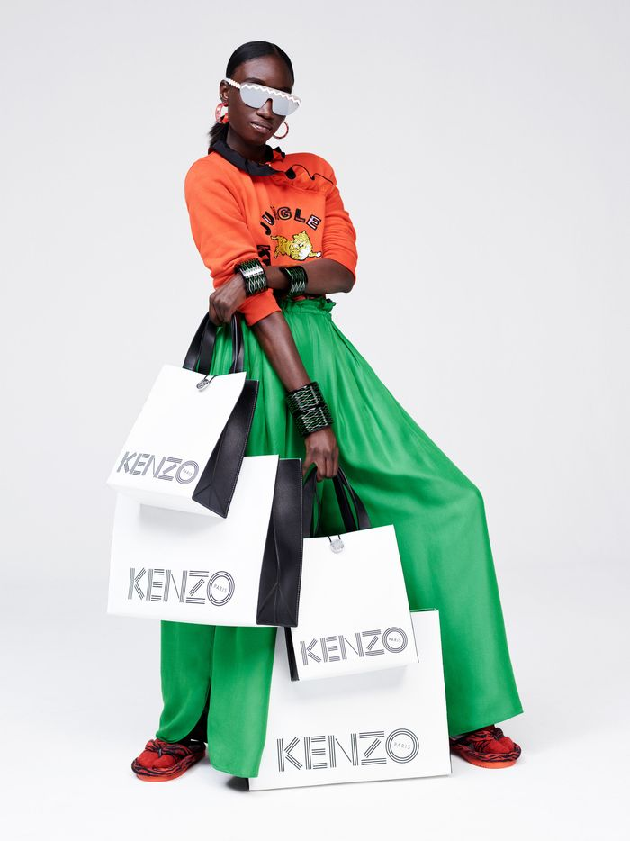 H&M x Kenzo Collaboration Lookbook