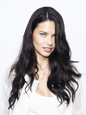 The $2 Secret Behind Adriana Lima's Impossibly Glossy Hair