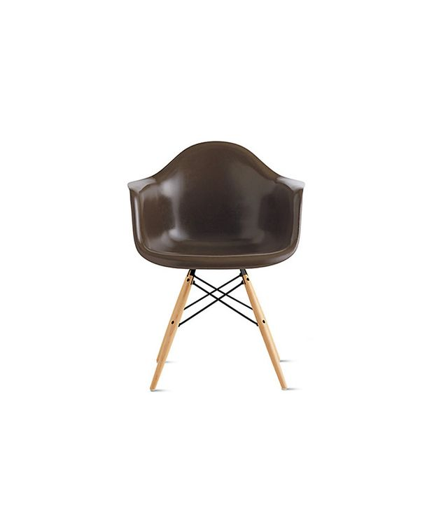 Eames Molded Fiberglass Dowel-Leg Armchair
