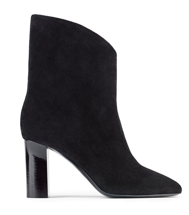 Acne Studios Ava Vsuede Black Boots