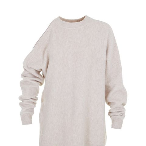 Cozy Boiled Cut Out Shoulder Sweater