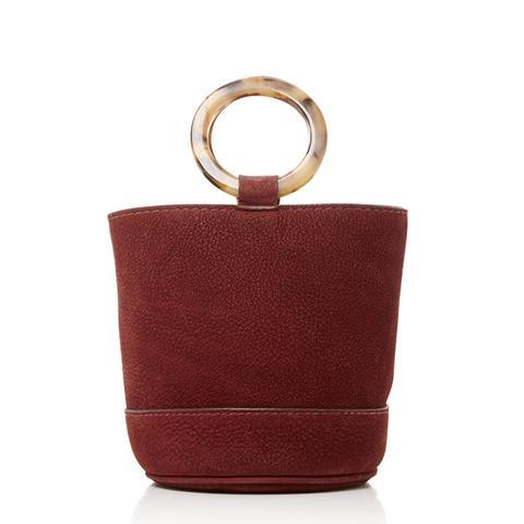 Suede Bonsai Bucket Bag