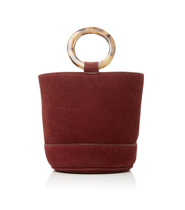Suede Bonsai Bucket Bag by Simon Miller
