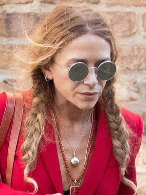 This Is a Rather Surprising Outfit for Mary-Kate Olsen