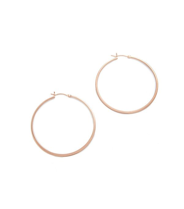 Small Hoop Earrings Jennifer Zeuner Jewelry