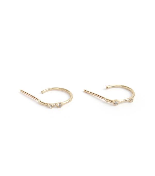 N+A Bitty Beautiful Hoop Earrings