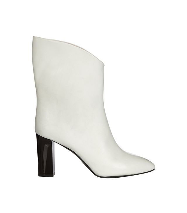 Acne Studios Ava V-Neck Ankle Boots