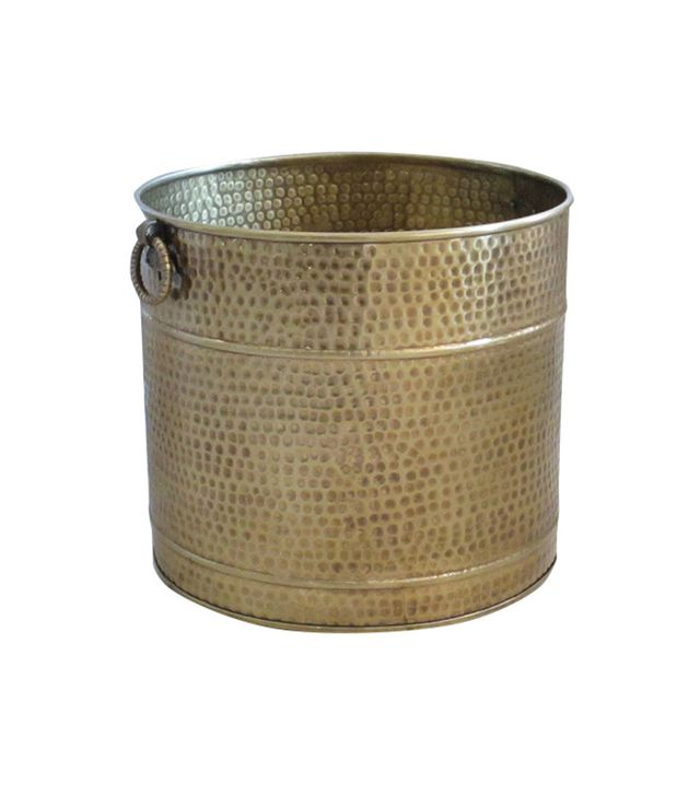 Excellent Accents Large Brass Planter