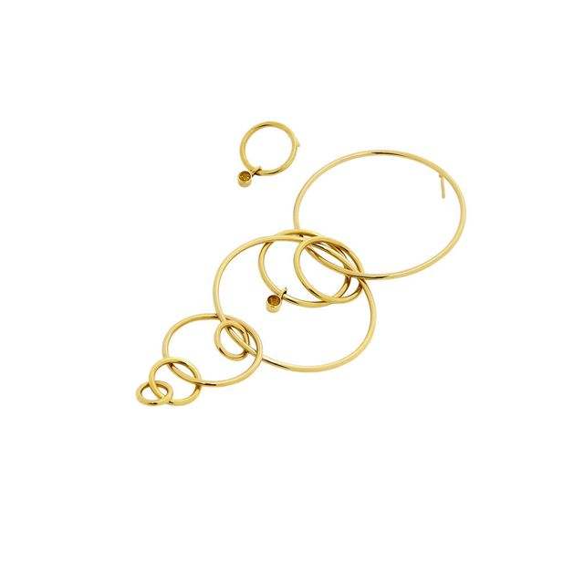 Holly Ryan Gold Layered Loop Earring