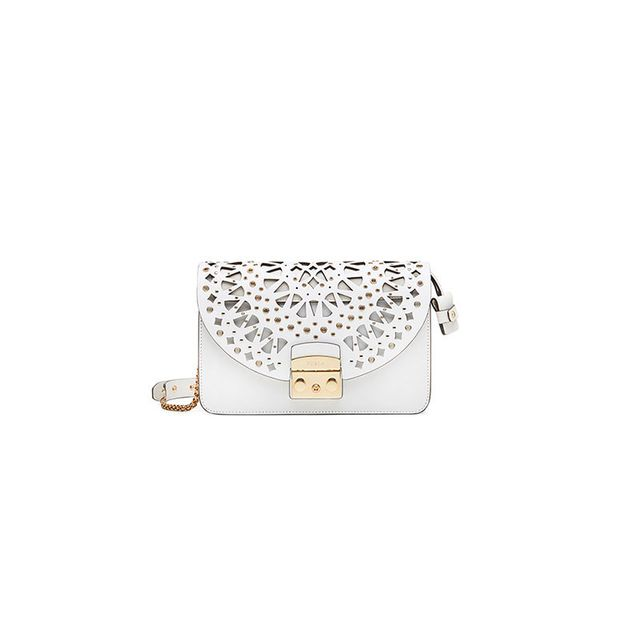 Furla Metropolis Shoulder Bag Chalk