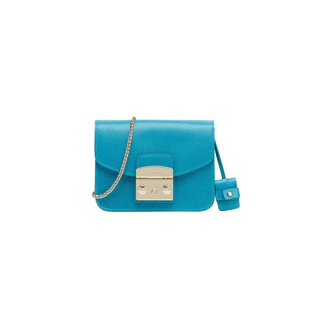 Furla Metropolis Mini Blue Bag