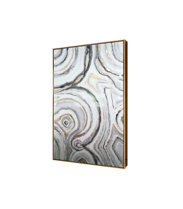 Threshold Geode High Gloss Canvas