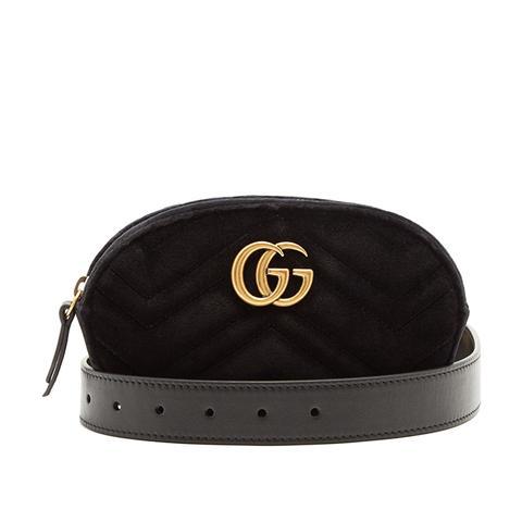 GG Velvet Bag