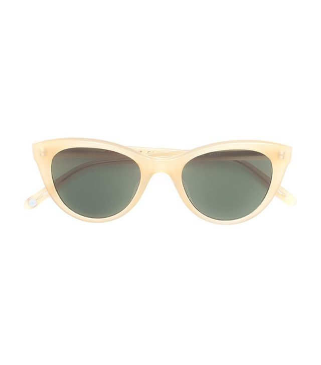 Garret Leight x Clare V Sunglases
