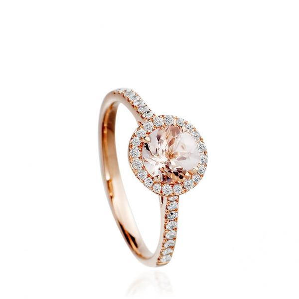 best engagement rings:  Astley Clarke Morganite Tearoom Ring